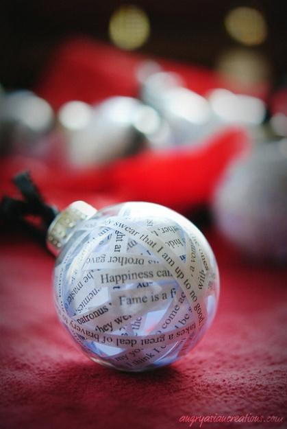 Bolas de navidad diferentes y las puedes hacer con los - Bolas navidad transparentes ...